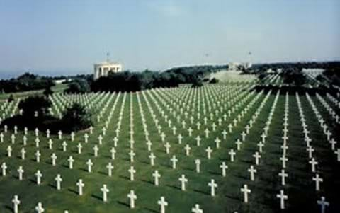 American Cemetry Omaha Beach