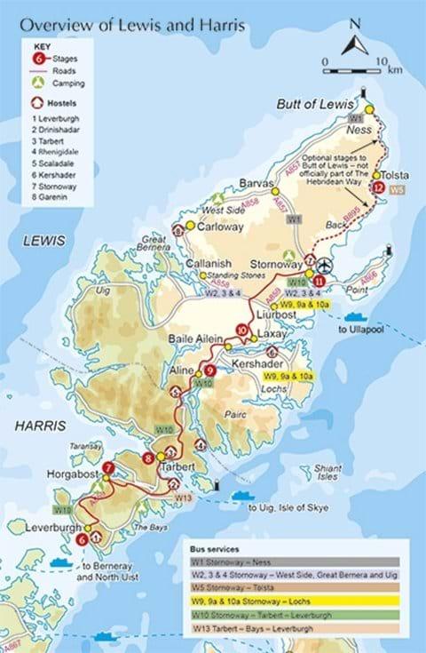 The Hebridean Cycle Way