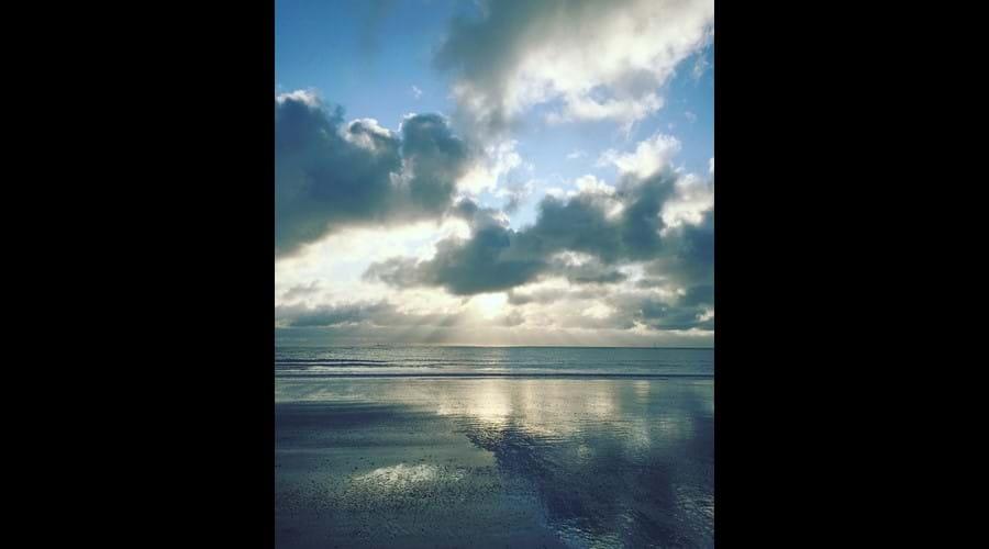 Winter sky, Gansey bay
