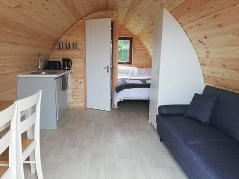 Clean modern spacious interior.