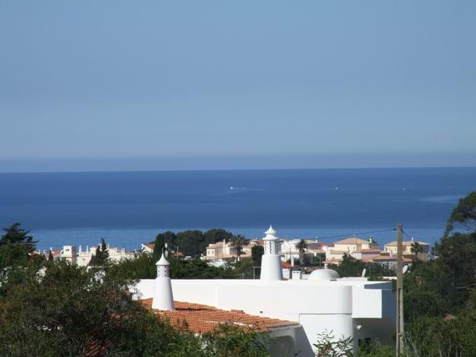 Seaview from villa