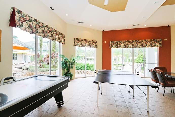 Games Room at Legacy Dunes