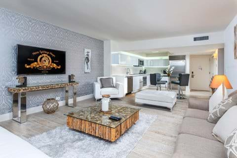 Interior of Apartment in South Beach Miami