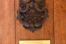 """Le Mandarin"" apartment door"