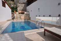 Pool side terraces, all with stunning views