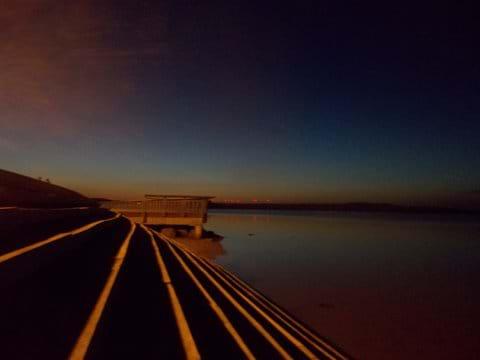 La Franqui at dusk - still and calm