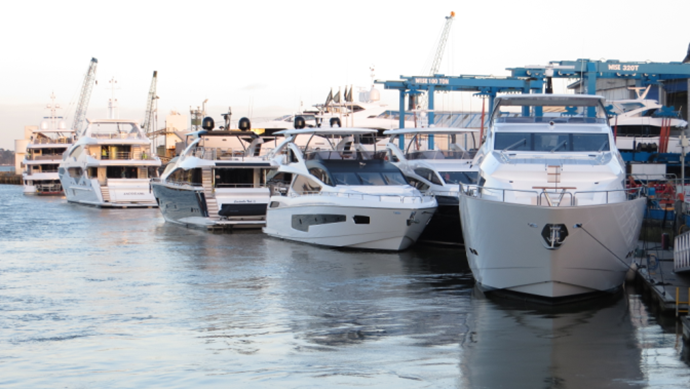 Sunseeker Shipyard - Poole Quay