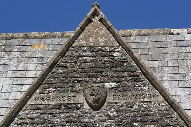 Another of The Rectory Lacock Inscriptions