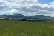 Cheviot hills from Chillingham
