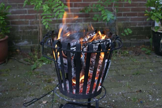 A firepit is also available