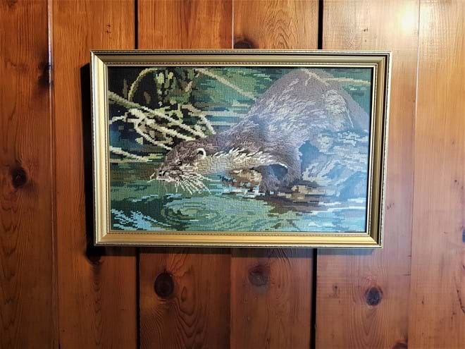 The Otter Tapestry
