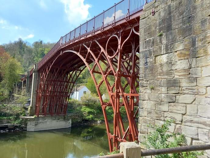 THE IRON BRIDGE - JUST A STONE
