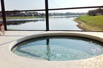Childrens Pool - Shallow pool overlooking the lake and adjoining the main pool