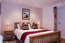 King-sized double bedroom