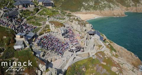 Magical Minack theatre 15mins away from seabreeze cottage