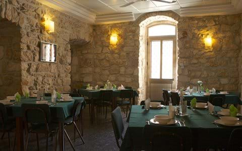 Lunch setting in one of our dining rooms