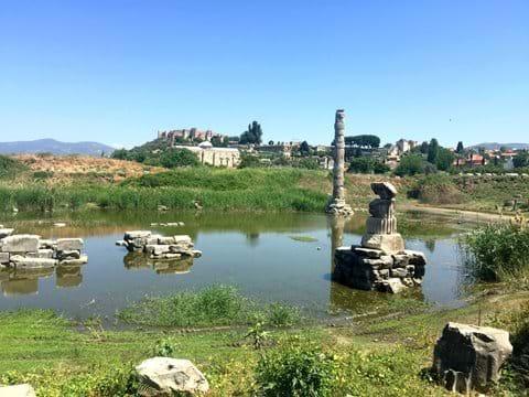 Artemis Temple, Isabey mosque & Byzantine castle, Selcuk
