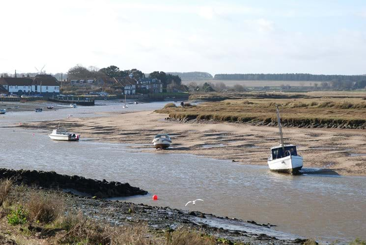 Nearby Brancaster Staithe