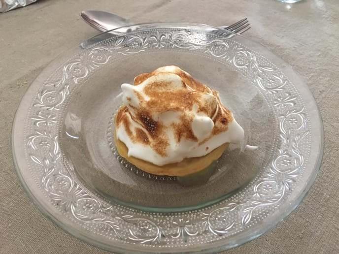 Homemade Lemon Meringue Pie.