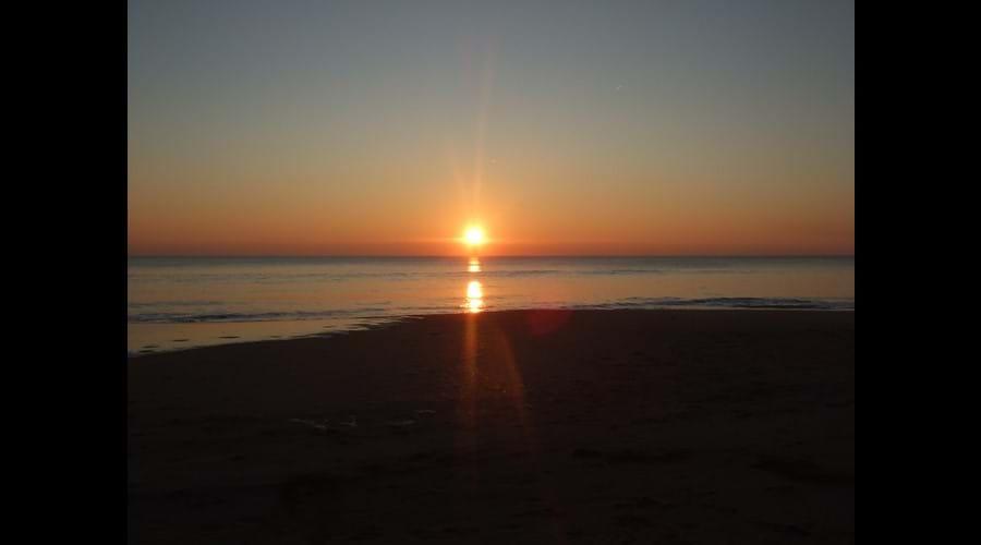 Une couchée de soleil spectaculaire en Vendée!