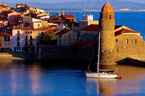 The beautiful coastal town of Collioure - haven of artists such as Picasso