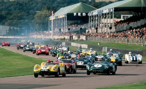 The Goodwood Revival Meeting.