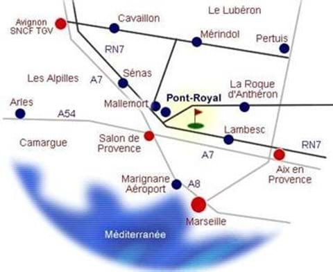 Location of Pont Royal