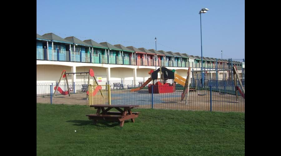 Children's play area, Sutton on Sea