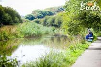 Fishing on Bude canal
