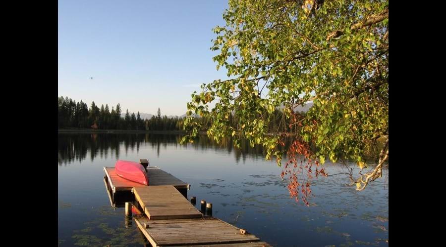 Two Lakes near Swan River