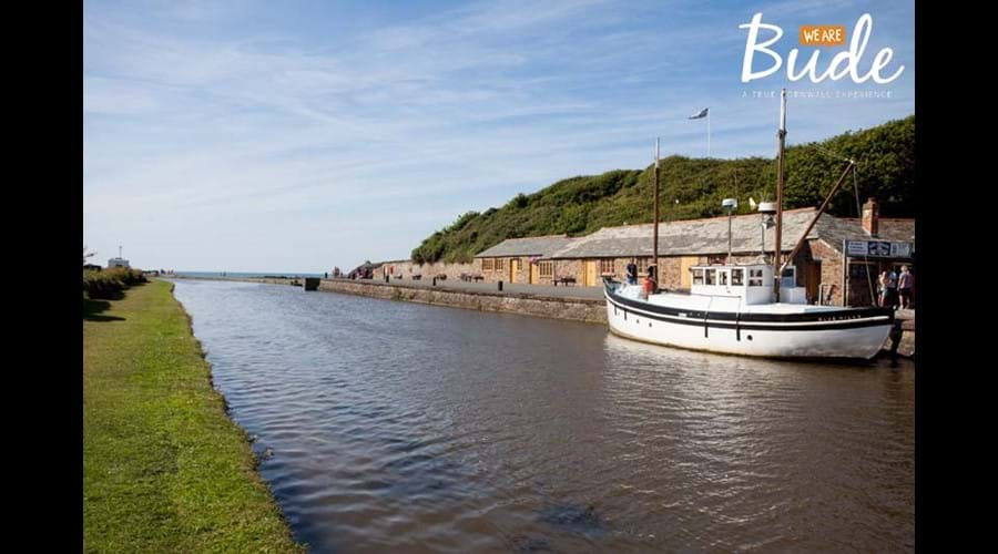 The canal basin at Bude
