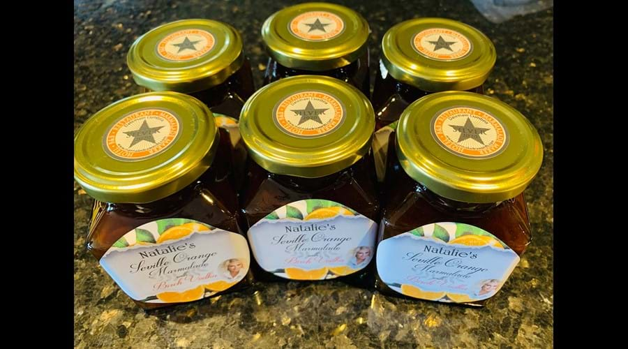 Extra bitter Orange marmalade won Silver Award in 2020