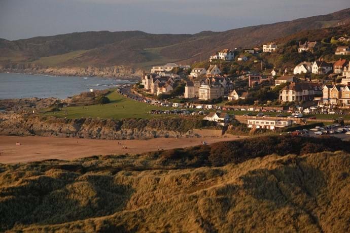 Woolacombe village (from Potters Hill)