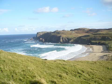 Nearest beach at Dail Mor
