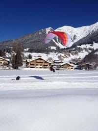 Paragliding for thrill seekers
