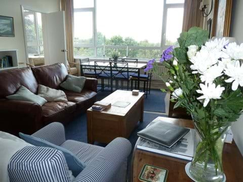Exceptional large windows means the apartment is always bright, even on a cloudy day.