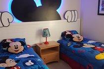 Disney Twin with LED Mickey Headboard