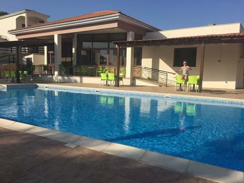 Communal Swimming pool and club house