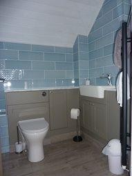 Bathroom - Bath with Shower over