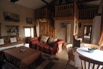 Living Room in the Gite
