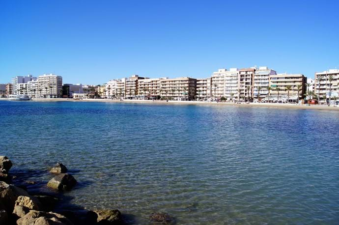 Mediterranean sea / Playa del Cura, Torrevieja
