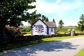 Secluded and surrounded by beautiful views, Fairy Hill Cottage is still accessible by the main, single track road.