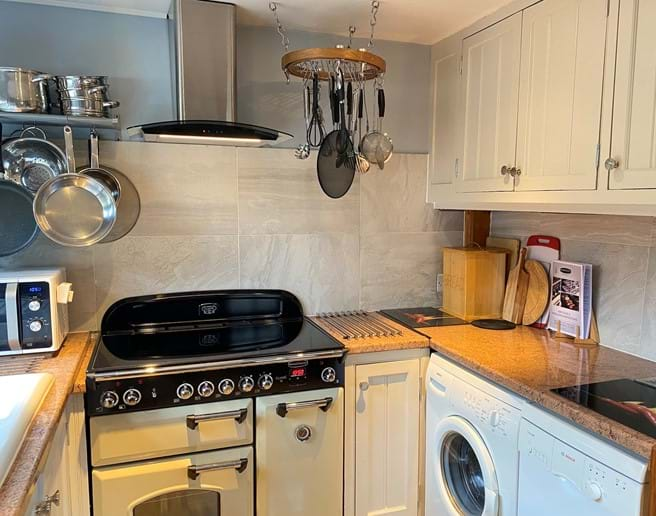 You will enjoy a very well equipped kitchen, with everything you might need.