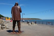 Play crazy golf or have a go on the bouncy castle on Filey sea front.