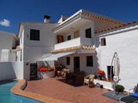 The Terrace Area of Casa Las Palomas, 4 Bedroom House.