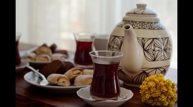 Tea time at Ionia House