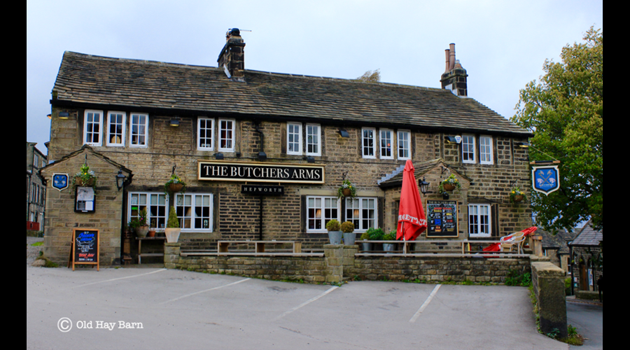 The Butchers Arms Pub - within walking distance
