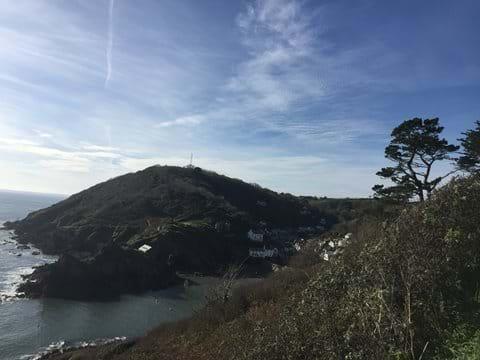 Pretty Polperro from the coastal path