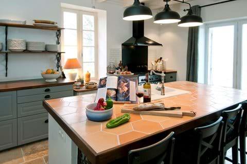 Maison La Busaneth kitchen Aquitaine, Lot-et-Garonne