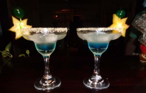 "Cocktail ""Blue Morpho"""